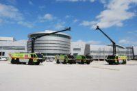 Rosenbauer apparatus at Miami International Airport