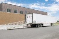 Acela 53' Refrigerated Trailer with OSHA compliant easy assembly ramp