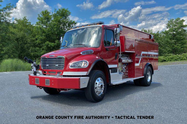 Orange County (CA) Fire Authority Purchases Five KME® Wildland Units