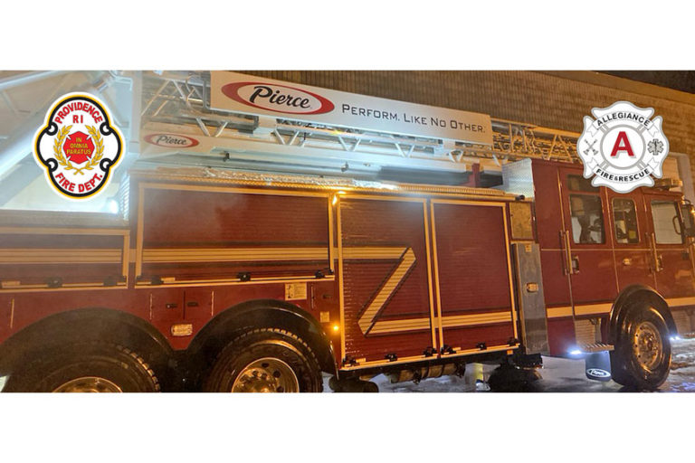 Providence Fire Department to Update Fleet with Nine New Pierce Fire Apparatus