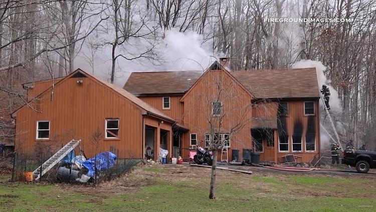 Monroe, CT House Fire