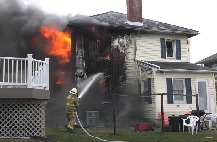 Well Involved Dwelling Fire in Pennsylvania